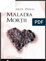 Marguerite Duras - Maladia morții.v.1.0