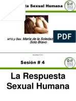 4 La Respuesta Sexual