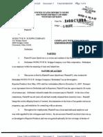 Laure Quinlivan v. WCPO, EW Scripps Company, Complaint w/jury demand, 2-6-09