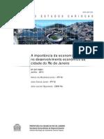3067 a Importancia Da Economia Criativa No Rio de Janeiro