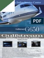 GulfStream G650 Paper Model