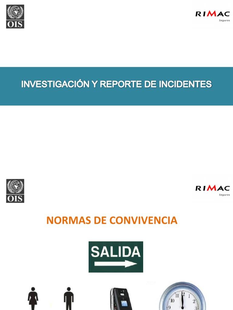 Investigación y Reporte de Incidentes