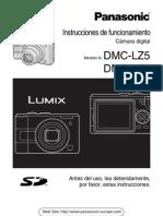 Panasonic Lumix DMC LZ5 LZ3