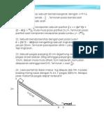 Latihan UAS Fisika SMA XI Semester 1