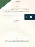 Dicionário Assírio - Volume XVII - S (Shin) Parte 3