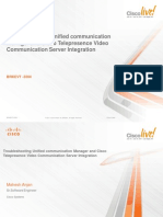 Troubleshooting Unified Communication