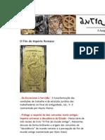 A Antiguidade Tardia Em Textos - O Fim Do Imperio Romano - Andre Bueno