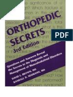 Orthopedic Secrets, 3rd Edition