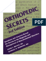 Orthopedic Secrets, 3rd Edition