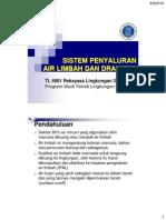 4 Sistem Penyaluran Air Limbah Dan Drainase