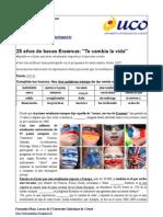 UCO Erasmus. Articulo. Entrevista. Audio. Video