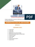 ADMINISTRACIÓN DE SERVIDORES PUBLICIDAD