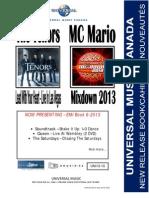 UMC UNI13-10 Mar 12th, 2013