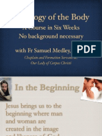 Theology of the Body Session 5. Dimension of the Sign