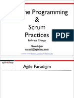 Agile Scrum and xp practices