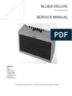 Fender Blues Deluxe Service Manual