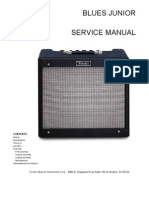 Fender Blues Junior Service Manual