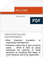 Organisation development foundation