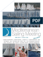 MEDSAILING PRE-NOTICE OF RACE