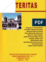 Alteritas (Revista de Estudios Socioculturales Andino Amazónicos), Año 1, N° 1, II Semestre, 2012, Ayacucho - Perú