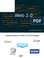 A Presentation by Artagnon Implementation of Web 2.0 Technologies