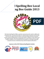 Local Qualifying Bee Guide