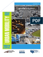 Texas A&M Urban Mobility Report