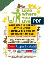Upper Horfield Big Tidy Up