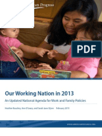 Our Working Nation in 2013