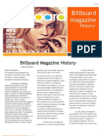Billboard Magazine History