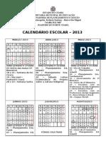 CALENDÁRIO ESCOLAR  2013 com Legenda - atualizado 2 (1)