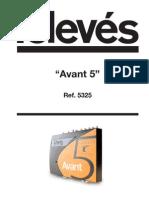 AVANT5 Manual Uso
