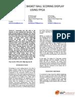 AUTOMATIC BASKET BALL SCORING DISPLAY USING FPGA