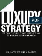 JN Kapferer - The Luxury Strategy