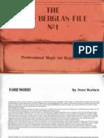 The Mind & Magic Of David Berglas Pdf