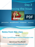 UO SAPP Problem Gambling Seminar   Day 2 Notes/Study Guide   2/15/09