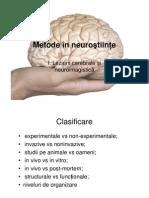 Leziuni Si Metode Neurostiinte 2011