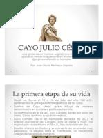 Unidad 10 Cayo Julio César - Juan David Restrepo Zapata