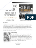 Courage Has No Color - Teachers' Guide