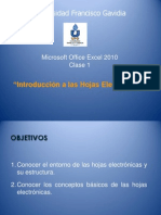 Leccion e Excel 2012