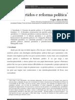 Partidos e reforma política