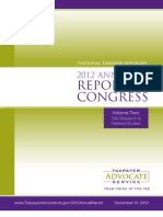 2012 Taxpayer Advocate Report to Congress - Volume 2