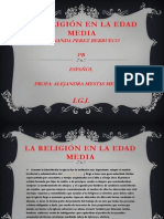 LARELIGION EN LA EDAD MEDIA