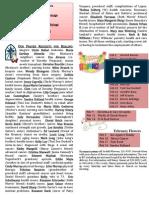 Prayer list, worship statistics