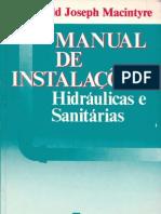 Archbald Joseph Macintyre Manual de Instalacoes Hidraulicas e Sanitarias[1]