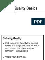 quality basics