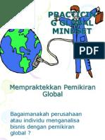 PRACTICING GLOBAL MINDSET