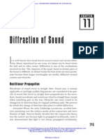 Diffraction of Sound