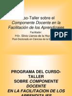 Diapositivas Sobre El Programa Del Curso-Taller
