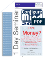 Configure Mind 2013- Money Matters